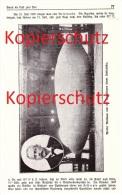 Original Zeitungsbericht - 1911 - Flug Zum Pol , Nordpol , Andree , Luftschiff , Wellmann Däneninsel , Polarforscher !!! - Fliegerei