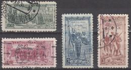 Cecoslovacchia, 1934 - 20th Anniv. Of The Czechoslovakian Legion - Nr.195/198 - Czechoslovakia