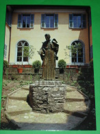 ANTONIO ROSMINI (bronzo Fra Silvio Bottes) SACRO MONTE CALVARIO Di DOMODOSSOLA Verbania/ Padri ROSMINIANI - Cartolina NV - Devotion Images