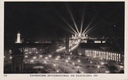 España--Barcelona--1929--Entrada A La Exposicion ( Nocturna )--Exposicion Internacional De Barcelona - Exposiciones