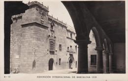 España--Barcelona--1929--Calle De Caballeros Desde Los Porticos De Sanguesa--Exposicion Internacional De Barcelona- - Exposiciones