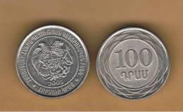 ARMENIA -  100 Drams 2003  KM95 - Armenia