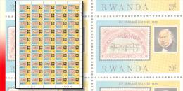 Rwanda 0946**  20c  Rowland Hill  - Feuilles / Sheet de 50 MNH