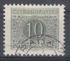D881 - Czechoslovakia Postage Due Mi.Nr. 80B O/used, Perf 11 1/2 : 11 3/4 - Postage Due