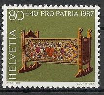 Suisse Schweiz Svizerra Switzerland Pro Patria 1987 Zumstein** No 217 - Ongebruikt