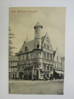 Cp/pk Gand Maison Des Tisserands Café Toreken In Den Anker TTBE - Gent