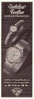 Original Werbung - 1959 - Uhr-Armbänder , Elastofix , Juwelier , Uhrmacher , RW !!! - Schmuck & Uhren