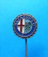 ALFA ROMEO Italy Car ( Vintage Pin Bertoni ) Badge Automobile Auto Autos Cars Automobiles Anstecknadel Distintivo Italia - Alfa Romeo