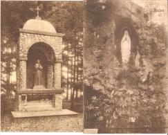 Sugny Le Monument Sainte Bernadette Et La Grotte 2 CARTES Voir Verso - Vresse-sur-Semois