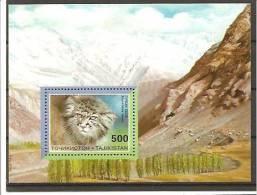 Tagikistan - Foglietto Nuovo: Felini Del Tagikistan - Tagikistan