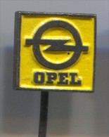 OPEL - Car  Automobile, Vintage Pin Badge - Opel