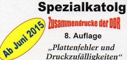 Katalog Abarten+PF In Zusammendrucke DDR 2015 Neu 25€ RICHTER Teil 4 Abart Varianten Se-tenant Special Catalogue Germany - Loisirs Créatifs