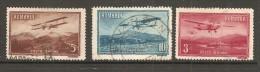 ROMANIA    Scott  # C 17-21  VF USED - Airmail