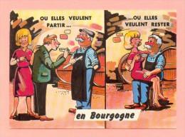 CPM  FRANCE  21  -  BOURGOGNE  -  Ou Elles Veulent Partir ...  ( P.B. 1972 ) - France