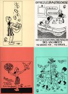 Jean EFFEL - Pochette De 6 Cartes (4 Reproduites) éditées Par Le Secours Populaire - Marianne, .....  (76316) - Effel