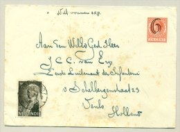 Nederlands Indië - 1934 - 12,5 Cent Koningin Emma Op Envelop Naar Nederland - Nederlands-Indië