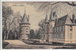 91 - TIGERY / LE CHATEAU (carte Toilée Colorisée) - France