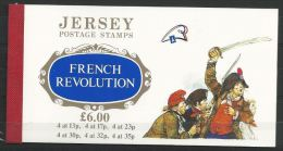 Jersey Carnet Révolution Française ** - Franz. Revolution