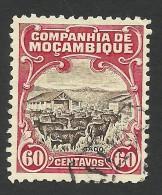 Mozambique Company, 60 C. 1923, Scott # 139, Used - Mozambique