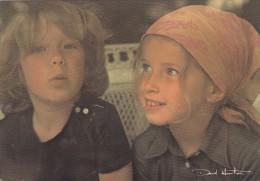 CPSM Du PHOTOGRAPHE David Hamilton - 2 Jeunes Enfants Garçon Fille - Ref 001 15 - Illustrateurs & Photographes