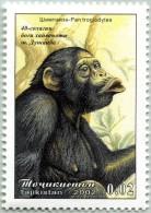 N° Yvert & Tellier 149 - Timbres Du Tadjikistan (MNH) - (2002) - Chimpanzé - Tadjikistan