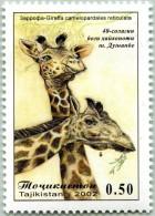 N° Yvert & Tellier 153 - Timbre Du Tadjikistan (MNH) - (2002) - Girafe - Tajikistan
