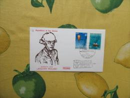 1983 Busta Primo Giorno FDC Capitolium Serie EUROPA Invenzioni Auguste Piccard CEPT N.2 Valori - Cartas