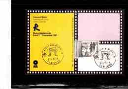 TEM4574   -    RIMINI  21.9.1989    /   FDC   C. CHAPLIN