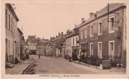LORMES (NIEVRE)  ROUTE D'AVALLON (HOTEL MODERNE) - Lormes
