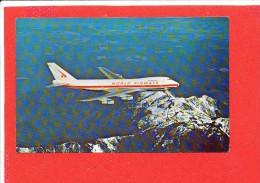 AVION Cpsm Boeing 747 C Jetliners   106.700 - 1946-....: Ere Moderne