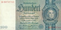 Deutschland, Germany - 100 Reichsmark, Ro. 176 A , ( Serie E/H ) 1936 - 1948 ! - [ 4] 1933-1945: Derde Rijk