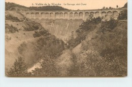 VALLÉE DE LA WARCHE -Le Barrage, Côté Ouest. - Malmedy