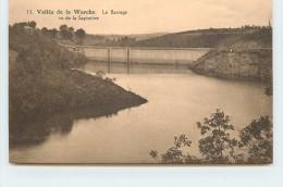 VALLÉE DE LA WARCHE - Le Barrage Vu De La Sapinière. - Malmedy