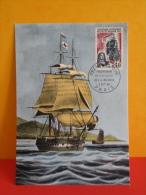 FDC- Carte Maxi, Peuplement De L'ile Bourbon - Paris - 2.10.1965 - 1er Jour, Coté 2 € - 1960-69