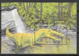 2002 - Mozambique MNH Block 175 FVF Fauna dinosaur