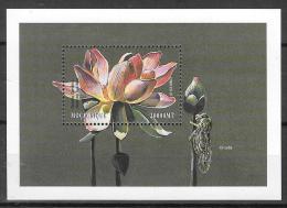 1999 - Mozambique MNH Block 59 FVF Flora Flowers