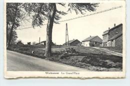 WERBOMONT - La Grand'place (carte Vendue En L'état). - Ferrieres