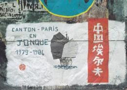 CPM Expédition Jonque'ion (1980-1984) - Canton -Paris En Jonque 1979-1984 - Peintures Yachties Horta - Paintings