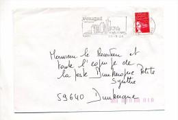 Lettre Flamme Fumel Chateau - Mechanical Postmarks (Advertisement)