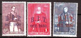 B - BELGIQUE   305/307  Neuf*  Cote  30   Euros - Belgien