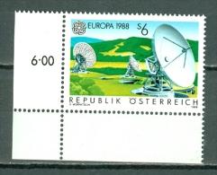 Osterreich 1988  Yv. 1751**, Mi 1922**, Ank 1953** MNH - 1945-.... 2nd Republic