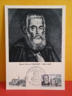 FDC- Carte Maxi, Saint Pierre Fourier 1565/1640 - 88 Méricourt - 12.2.1966 - 1er Jour, Coté 3 € - Cartes-Maximum