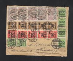Dt. Reich Brief 1923 Siehe Farbe 5000 Mark - Deutschland