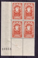 BLOC DE QUATRE  N* 770 ( Numéroté 09955) NEUF** - Unused Stamps