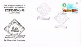 12142. Carta LA GUARDIA (Pontevedra) 1999. Exosiin EXFIMIÑO 99 - 1931-Hoy: 2ª República - ... Juan Carlos I