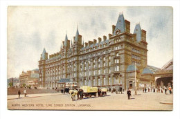 NORTH WESTERN HOTEL,LIME STREET STATION, LIVERPOOL - Liverpool