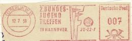 Nice Cut Meter 2 Bundes Jugend Treffen In Hannover, Berlin 12/7/1957 - Andere