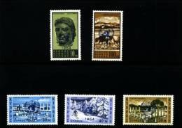 CYPRUS - 1964  U.N.O.  SET  MINT NH - Chypre (République)