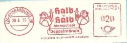 Nice Cut Meter Pictorial Halb U Halb Mampelikor Doppelmonch, Hamburg 28/8/1959 - Scheikunde