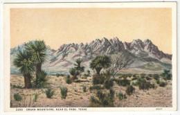 Organ Mountains, Near El Paso, Texas - El Paso